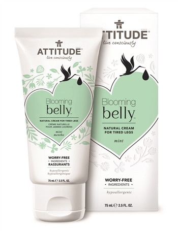 ATTITUDE | Blooming Belly | Vermoeide benen