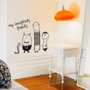 Bumoon | Muursticker | My Imaginairy Friends