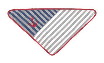 Apple Park | Bandana Slabbetje | Grey Stripes