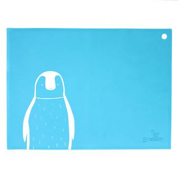 JJ Rabbit | SiliMATs | Pinguin | Blauw
