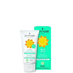 ATTITUDE | Little Ones | Zonnebrandcrème | SPF 30 | 75ml | Geurvrij