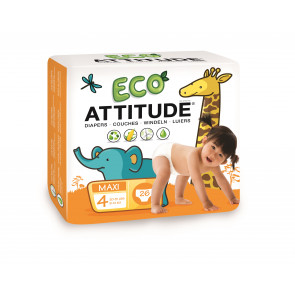 ATTITUDE | Little Ones | Eco-luier | Maat 4 | 26 stuks