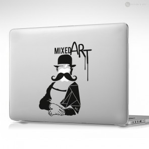 Mixed Art Apple MacBook