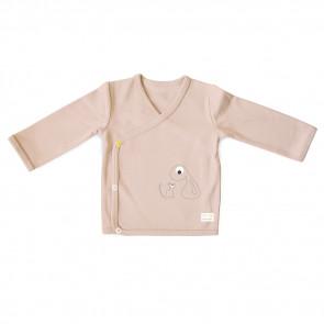 Olli+Jeujeu | T-shirt Kimono 'Basic'| Poederroze | Lange Mouw