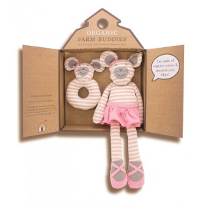 Apple Park | Organic Farm Buddies | Cadeauset | Ballerina Mouse