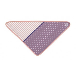 Apple Park | Bandana Slabbetje | Purple Dots