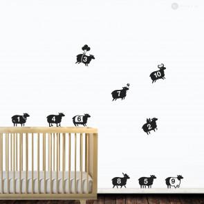 1...10 Sheep